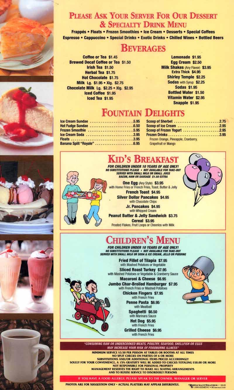 Argonaut diner menu online best free no deposit bingo sites